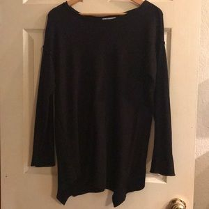 89th Madison tunic asymmetrical sweater. Medium